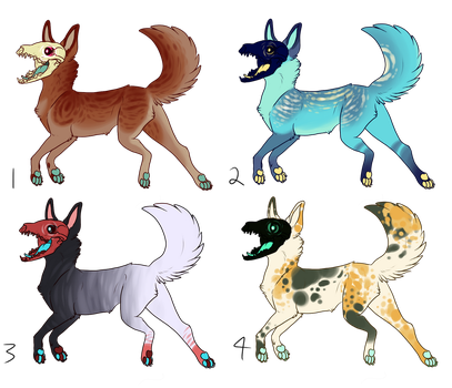 Skulldogs Auction [CLOSED] by necrovut