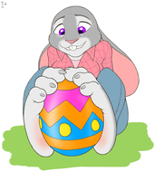 Easter Judy by zp92