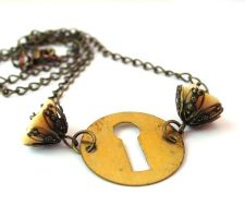 Passage Necklace by sojourncuriosities