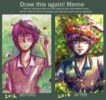 Meme- Draw it again- Ild by LiniAriva