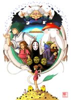 Spirited Away by Willow-San