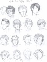 Male Hair Styles- Short by Free-Falling