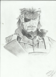 the big boss from metal gear solid 3 by becmart03