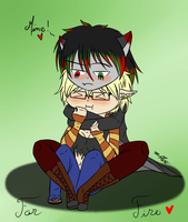 Tight Hug by xXFireStarryXx