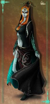 Commission: Midna by VanEvil
