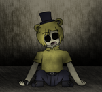 Golden Freddy (Human) by MarcosVargas