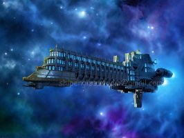 Cathedra Spaceship by shipenglee