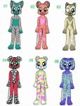 Furry Adoptables Auction (open) by Darksoul44Adopts