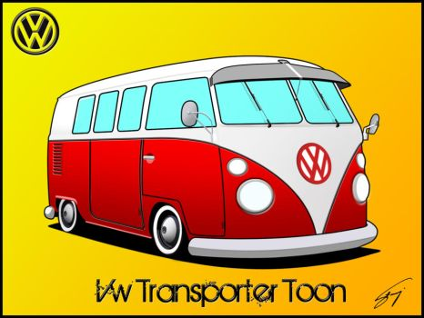 Vw T1 Toon by Dariich