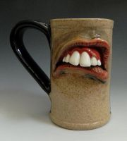 Mouth Mug- FOR SALE by thebigduluth