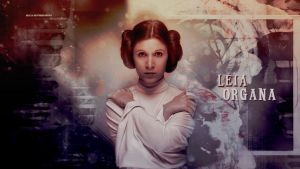 Star Wars Leia Organa by HappinessIsMusic