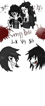 Laughing Jack And Jill by MagicBat99