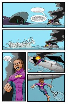 Super Clyde - Water Comic Page 9 Recolored by vytera