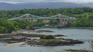 Menai Suspension Bridge by UdoChristmann