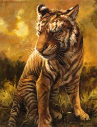 Gold Stripes by kenket