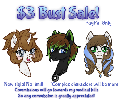 [AD] MLP Bust Sale! by Dare2DreamMedia