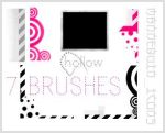 7 100x100 icon sized brushes. by SuicideLollies