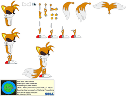 Character Builder-Mecha Tails by Kphoria