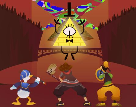 This is what I want for Kingdom Hearts 3 by DasRuedi