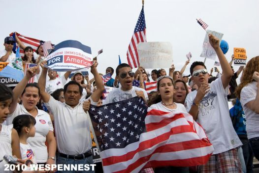 Immigration Reform March VI by Wespennest