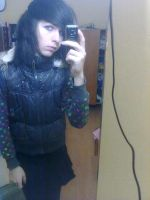 Me in a mirror.. :D by 3NDx8