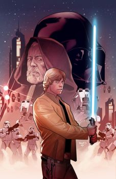 Star Wars Comics 45 by PaulRenaud