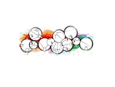 Gallifreyan encre multicolore by tom62810
