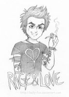 St Jimmy - Rage and Love by kelly42fox
