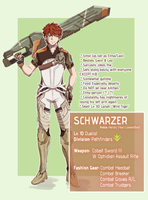 Xenoblade Cross: Schwarzer by ShiroHuntress