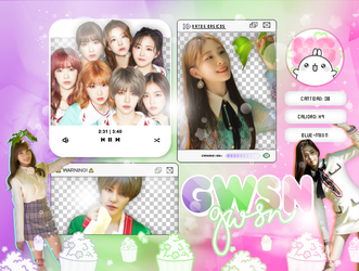 GWSN   'THE PARK IN THE NIGHT'   PACK PNG by KoreanGallery