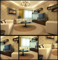 Sitting Area by kulayan3d