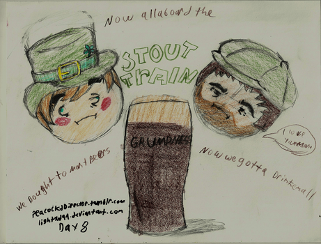 Day 8 Stout Train by PeacockChan