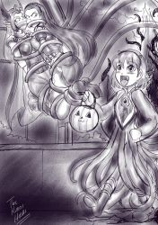 Halloween sketch 4 by DAkuroihoshi