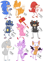 A fucking SONIC PARTY by satoasty