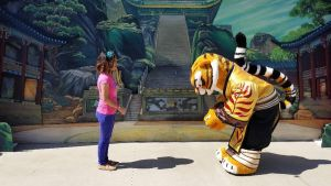 I bow and greet Tigress with respect by Magic-Kristina-KW