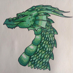 Green Dragon by shadee