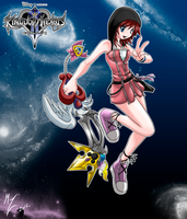 RE kairi kingdom hearts 2 by mauroz