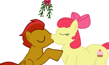 Applebloom Kiss by robertella