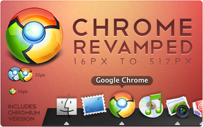 Chrome Revamped - Icon by spud100