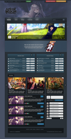 FOR SALE: Anime Webdesign #1 by AyzeGraphics