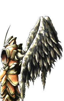 Angel Soldier coloured edited by mohzart