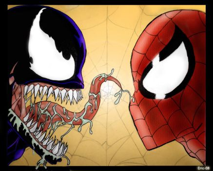 Spider-Man vs. Venom by Blackheart73191