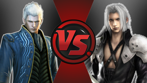 CFC|Vergil vs. Sephiroth by Vex2001
