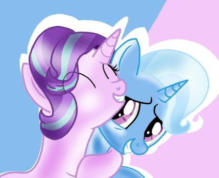 Trixie and Starlight by DoraeArtDreams-Aspy