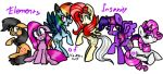 MLP: Elements of Insanity (2nd version) by KikiRDCZ
