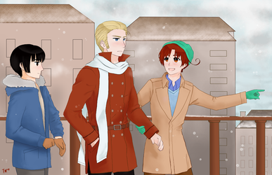 APH Wintertime by Trudieface526