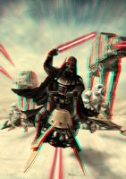 Vader Speeder Attack 3-D conversion by MVRamsey
