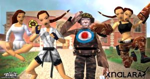 Tomb Raider Classic Style/ Pack 2 Manor - XNA/XPS by Zellphie