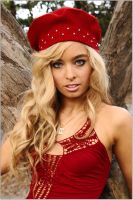 Zara - red beret 1 by wildplaces