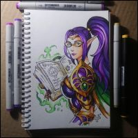 Sketchbook - Mysterial by Candra